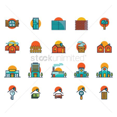 Magnifying : House icons