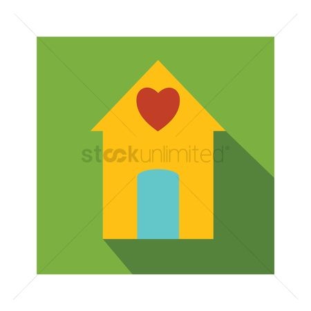 Cottage : House with heart