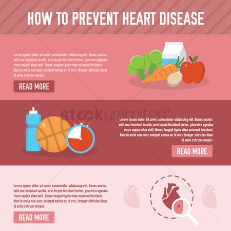 Aware : How to prevent heart disease design