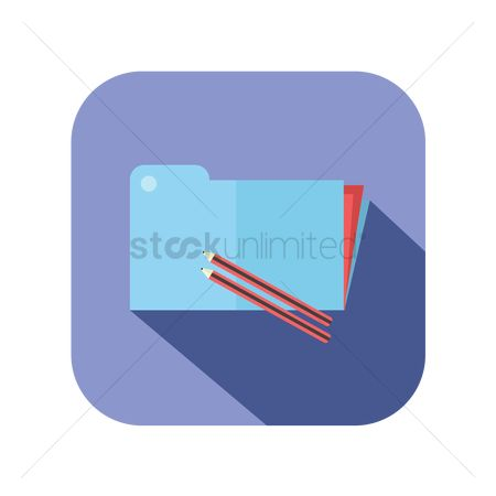 Portfolio : Icon of an office file