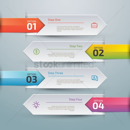 Currencies : Infographic design elements