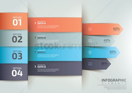 Graphic : Infographic design elements