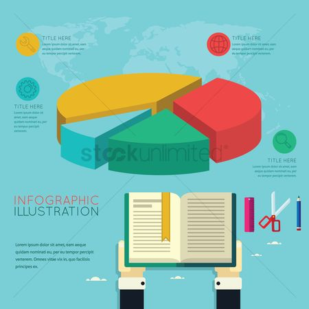 Notebooks : Infographic of online education