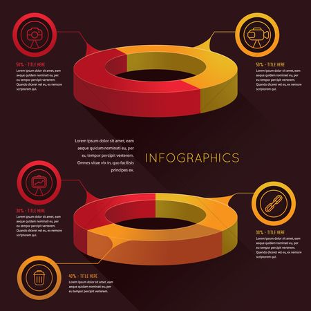 Photography : Infographic of technology