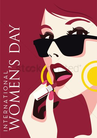 Days : International women s day design