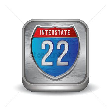 Interstates : Interstate 22 route sign