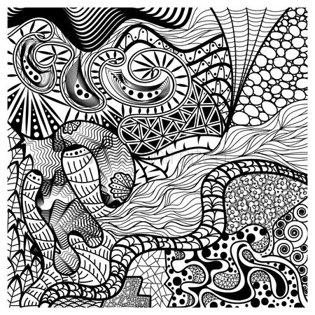 Wallpaper : Intricate abstract design