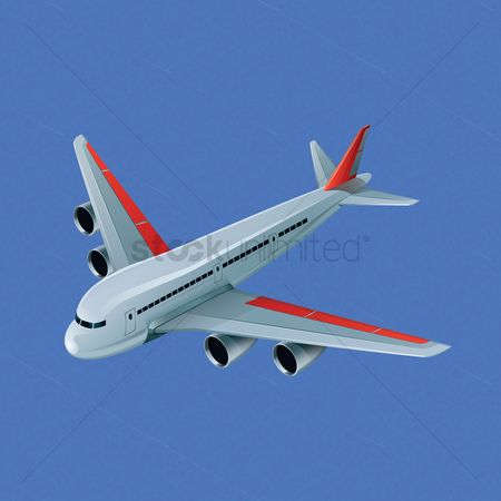 Aeroplanes : Isometric airplane