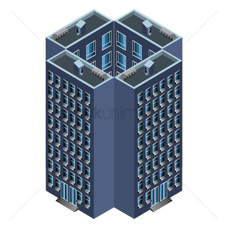 Office  building : Isometric building