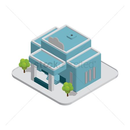 Architectures : Isometric building