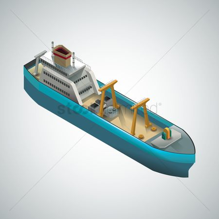 Vessel : Isometric ship