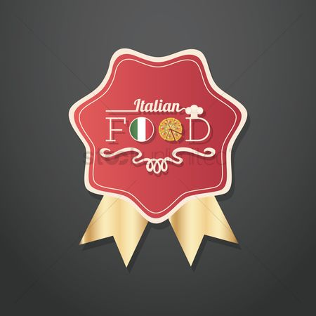 Binge : Italian food labels