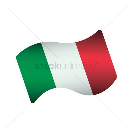 Tricolored : Italy flag