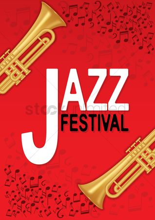 Brass : Jazz festival poster design