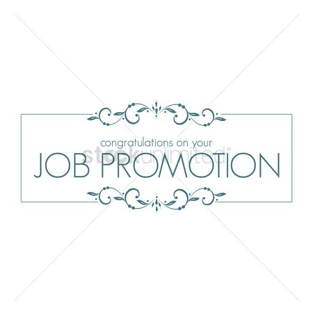 Compliment : Job promotion