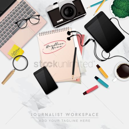 Highlighters : Journalist workspace