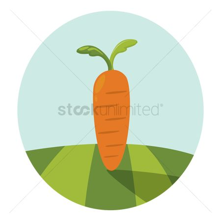 Greens : Juicy carrot