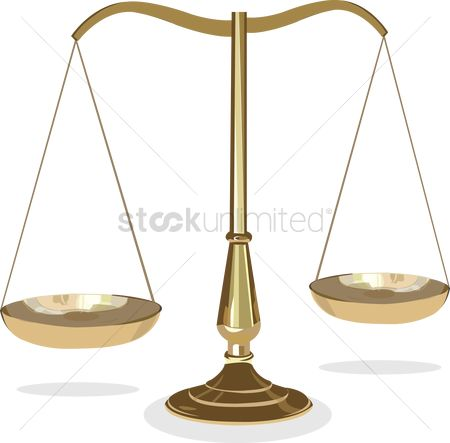 Weight : Justice scale