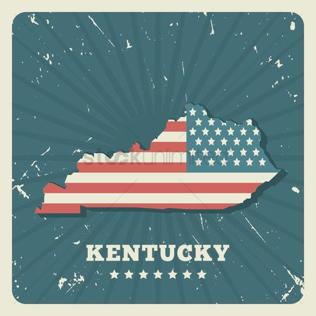 Oldfashioned : Kentucky map