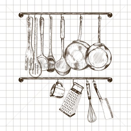 Appliances : Kitchen utensils design