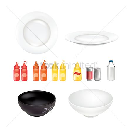 Plates : Kitchenware set