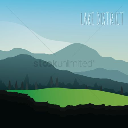 Touring : Landscape in lake district