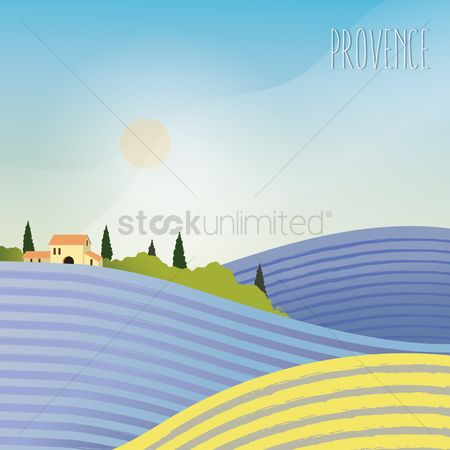 Touring : Landscape in provence