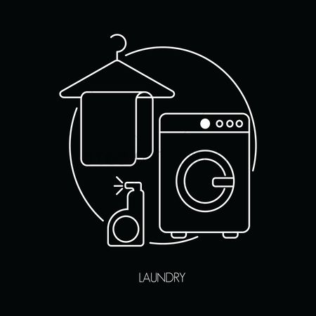 Washing machine : Laundry icons