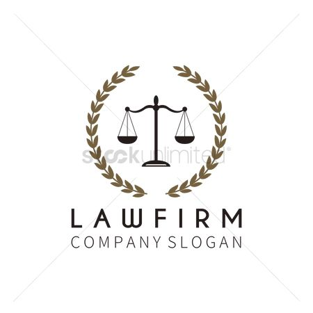 Laurel : Law logo element