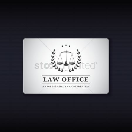 Equality : Law office name card