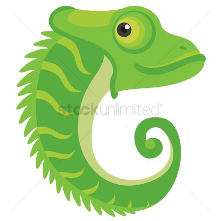 Learn : Letter c for chameleon