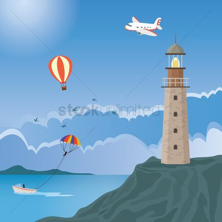 Aeroplanes : Lighthouse