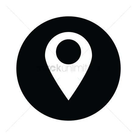 Map pin : Location icon