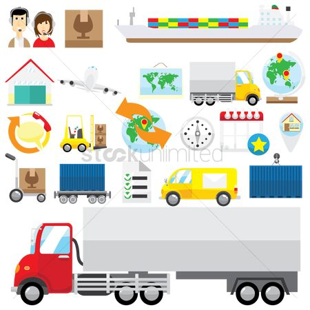 Lorries : Logistic collection