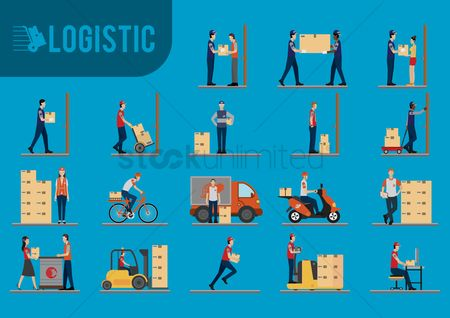 Wheel : Logistic