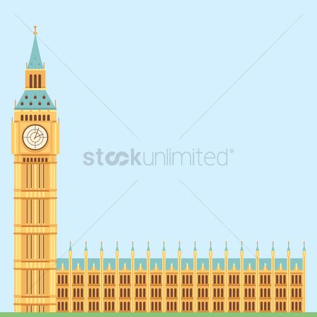 Monuments : London tower landmark