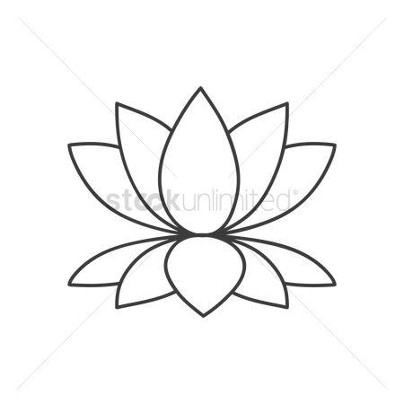 Free lotus flower outline stock vectors stockunlimited 1970754 lotus flower outline lotus flower mightylinksfo