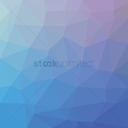 Gradient : Low poly background