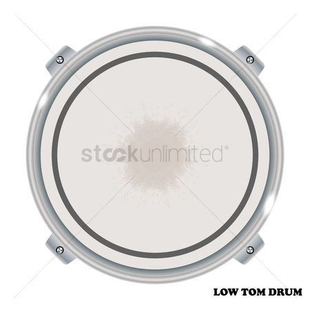 Percussions : Low tom drum