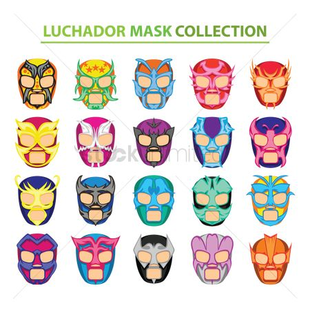 Mexicans : Lucha libre mask