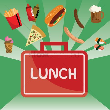 Lunch : Lunch box poster