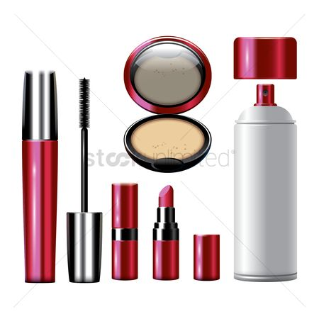 Accessories : Makeup icon set