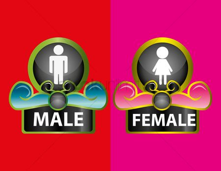 Gents : Male and female icon