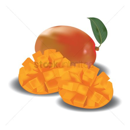 Mangoes : Mango with slice