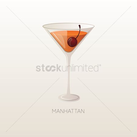Flavor : Manhattan drink