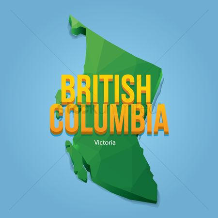 Cartography : Map of british columbia