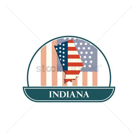 Indiana : Map of indiana