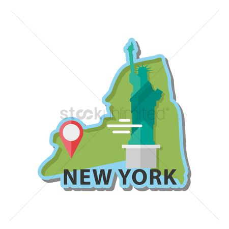 Navigators : Map of new york state