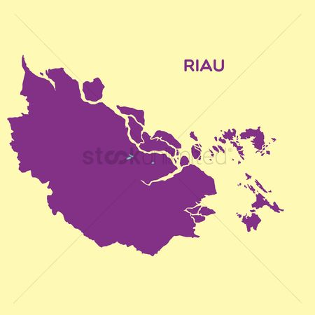Province : Map of riau