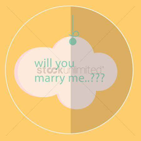 Proposal : Marriage proposal card
